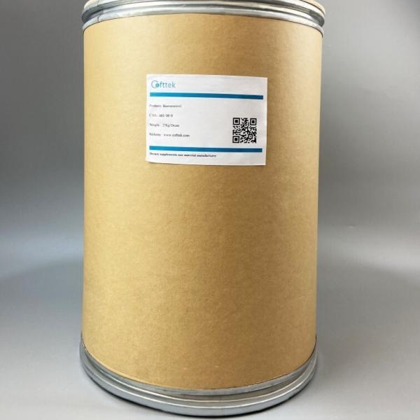 રેઝવેરાટ્રોલ ખરીદો (501-36-0) ઉત્પાદક - કોફ્ટટેક